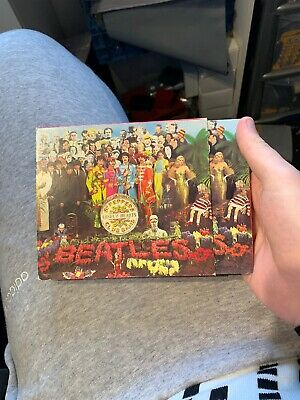 The Beatles - Sgt. Pepper's Lonely Hearts Club Band (CD Album) 1987