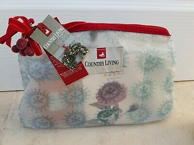 BNWT Country Living Collection - Bath Collection Gift Set & Washbag, Christmas