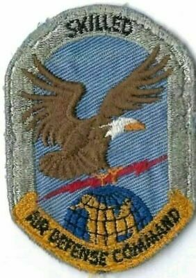 Usaf Patch Air Defense Command Skilled