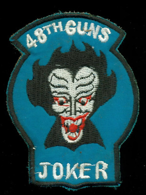 US ARMY 48th ARMED HELICOPTER COMPANY GUNS JOKER VIETNAM PATCH