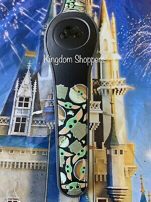 NEW DISNEY PARKS Mandalorian The Child Baby Yoda BLACK Magicband 2 Star Wars