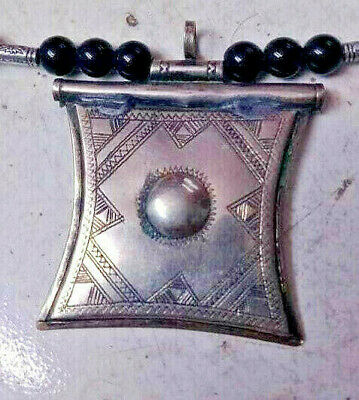 Rare Ancient Viking Silver Necklace Amulet Pendant AXE Museum Quality Artifact