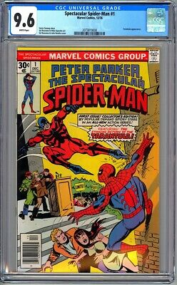 Peter Parker Spectacular Spider-Man #1 - Cgc 9.6 - Wp - Nm+