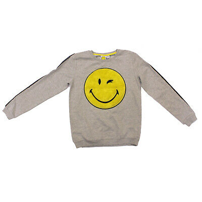 Licensed Girls Smiley World Long Sleeve Top Age 12-13 Years 3d Effect Front