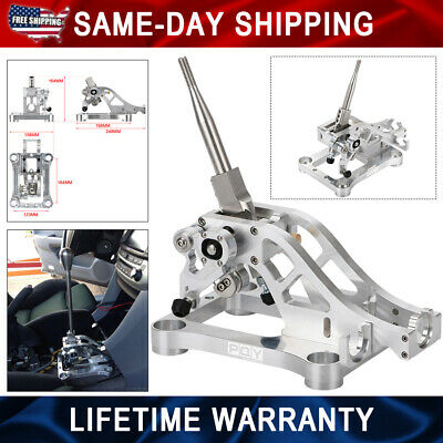 Billet Alu Shifter Box For Acura 04-08 TL TSX 03-07 Accord CM Port For Cable