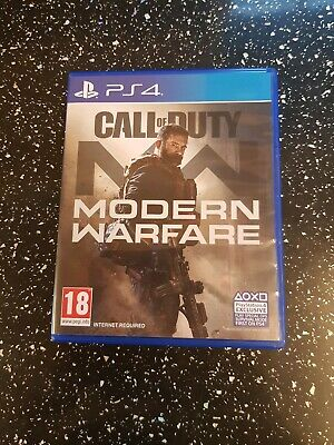 CALL OF DUTY MODERN WARFARE PS4 GAME  with bonus digital content