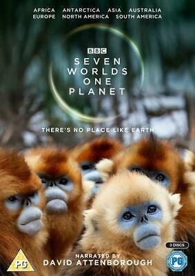BBC Seven Worlds One Planet - DVD - (3 Discs) *New but NOT Sealed*    02/12/19