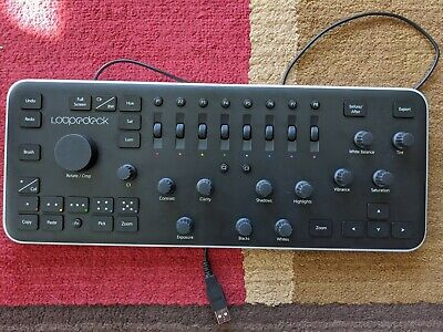 Loupedeck Photo Editing Console - used but perfect condition!
