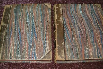 Barclay's Complete and Universal Dictionary 2 volumes circa 1820 with maps