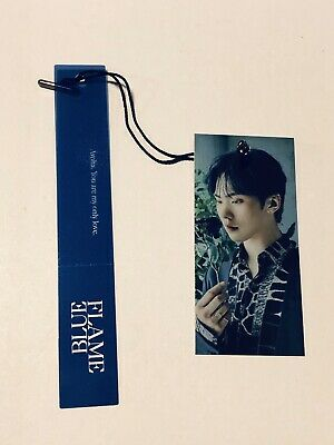 ASTRO Blue flame ROCKY Official Photocard Bookmark