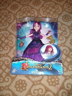Disney Descendants Royal Yacht Ball Mal Isle of the Lost Purple Dress New Doll
