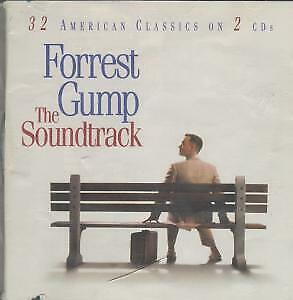 FORREST GUMP Soundtrack DOUBLE CD UK Issue Made In Austria Epic 1994 32 Track 2