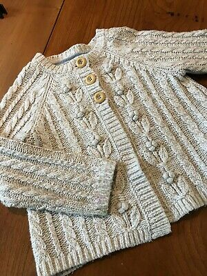 Girls Boden Knitted Cardigan Age 6-7 years Good Condition