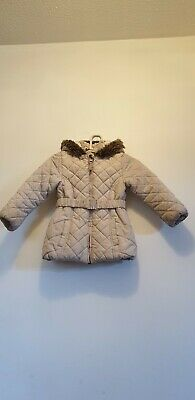 Marks and Spence Girls hooded Jacket Size 4-5 Years