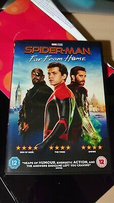 Spiderman Far From Home Dvd New Unsealed