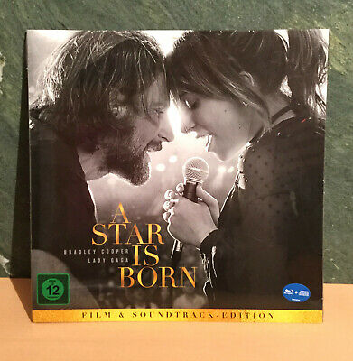 A Star is Born (2018) Lady Gaga Limitierte Vinyl-Edition (Blu-ray+CD) NEU&OVP !