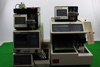 Job Lot Kontron Equip: HPLC Autosampler 465 + 360, HPLC Pump 422 x 2