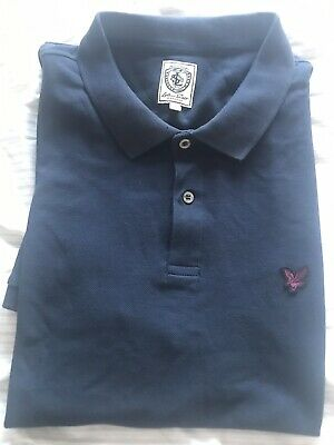 lyle and scott polo shirt large