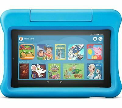 """AMAZON Fire 7"""" Kids Edition Tablet (2019) - 16 GB, Blue - Currys"""