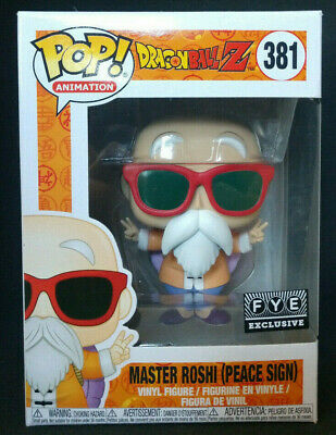 ***MINT*** Funko Pop! Dragon Ball Z Master Roshi Peace Sign FYE Exclusive