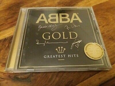Abba - Gold Greatest Hits Very Best Of Signature Issue UK CD VGC