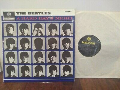 "The Beatles - ""A Hard Days Night "" - Original 1964 Vinyl Album. Mono PMC 1230"
