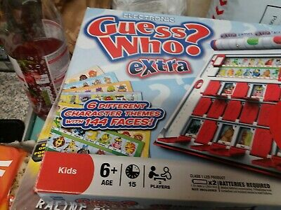 kids electronic guess who  extra game boxed