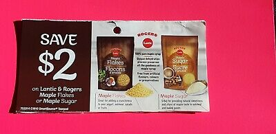 10x$2.00 off lantic & rogers Maple flakes or maple sugar