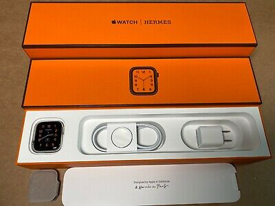 Apple Watch Hermes Series 4 - 40mm w/Box, No Band. Valid Warranty to Oct. 2020
