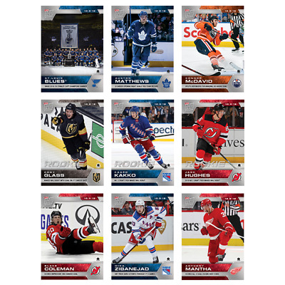 2019-20 Topps Now Hockey Stickers Week #1 - Only 1,483 Copies - U Pick From List