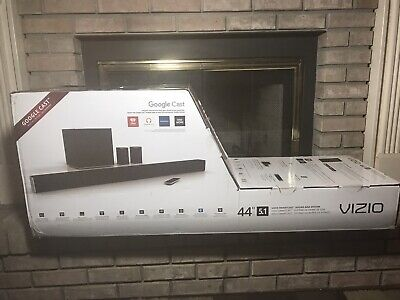 VIZIO SmartCast SB4451-C0 5.1 Sound Bar System with Wireless Subwoofer. NIB !!