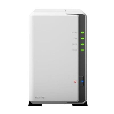 NEW SYNOLOGY DS218J NAS: 2BAYS DISKSTATION MARVELL DUAL CORE 1.3 GHZ 512MB D.f.