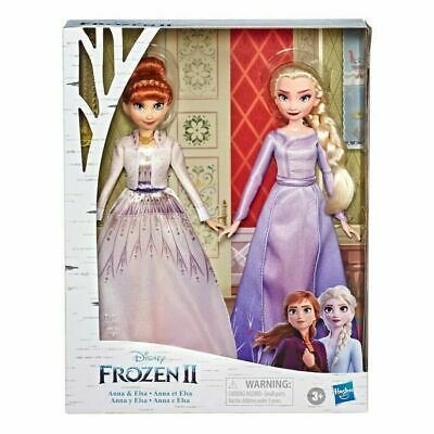 Disney Frozen 2 Anna and Elsa Fashion Doll Set HOT TOY Brand New Ships FAST!!!