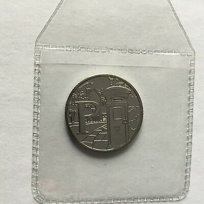 Great British Coin Hunt A-Z Alphabet 10p. Uncirculated Letter P For Postbox 2018