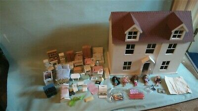 Large Wooden Dolls House Loads of Extras