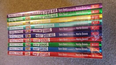 Horrible Histories Beastly Book Set Scholastic Rrp £59.90 New And Wrapped