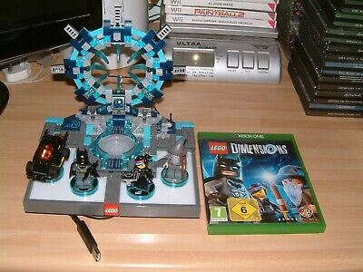 Lego Dimensions Starter Pack For Xbox One .... Includes Portal, Game And Figures