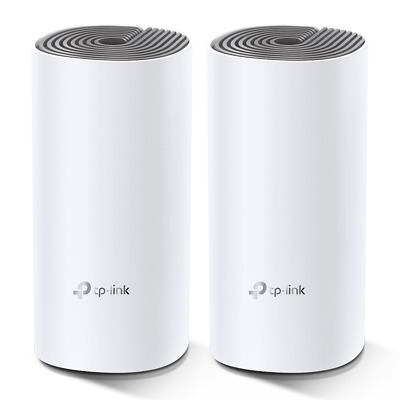TP Link AC1200 Whole Home Mesh WiFi System Deco E4 2-pack