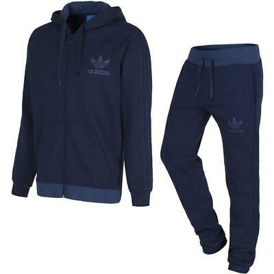 ADIDAS ORIGINALS SPO Trainingsanzug MARINEBLAU GRAU Jogger