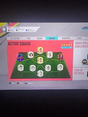 Fifa 20 Ps4 Account 15 million coin team / 5.5 million of traceable players!