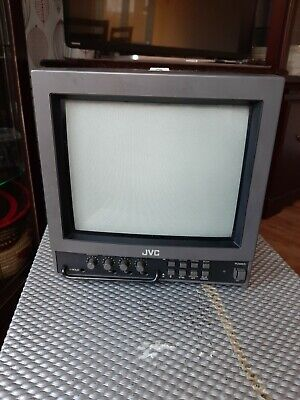 "RAR 10"" CRT Broadcasting JVC Farbmonitor TM-1000PS  with flight case"