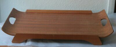 Large Vintage Bent Wood Serving Tray w/ Handles
