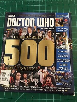 Doctor Who Magazine 500 Issue