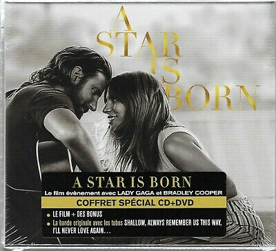 A Star Is Born Lady Gaga - French Boxset With Cd + Dvd [Limited Edition]