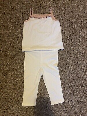 Catherine Malandrino Girls Top And Leggings Set Age 2 3 Years New No Tags
