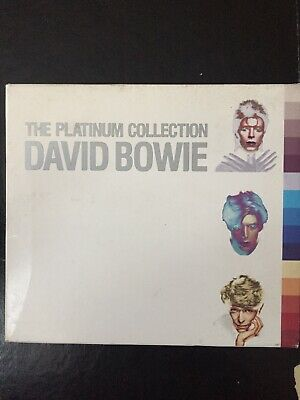 David Bowie Platinum Collection Used 57 Track Greatest Hits Cd Pop Rock 70s 80s