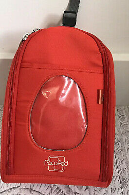 PacaPod Luxury Feeder Pod Cool Bag Red Weaning Backpack Buggy