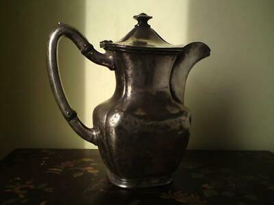 Antique American Reed & Barton Silver Plated Pot / Jug for Brown Palace Hotel