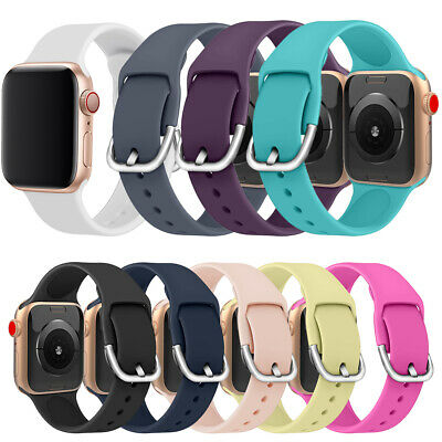 Strap Watch Band Silicone Bracelet For Apple Watch Series 5 4 3 2 iWatch