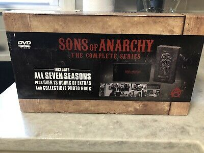 Sons of Anarchy: The Complete Series (DVD, 2015, 30-Disc Set)